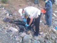 العثور على جثة عجوز متفحمة بإيموزار مرموشة