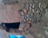 الامطار تخرب المنازل الطينية بنواحي ألنيف