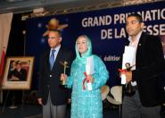 الصحافي عبد الله بوشطارت يفوز بالجائزة الوطنية الكبرى للصحافة في صنف الإنتاج الصحفي الأمازيغي