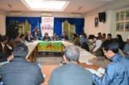 أمازيغ المغرب والعالم يحتجون أمام المنتدى العالمي لحقوق الإنسان بمراكش ضد حرمانهم من كافة حقوقهم
