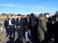 وزير الداخلية يتفقد حجم الخسائر المادية التي خلفتها الامطار الطوفانية باقليم تارودانت