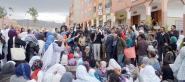 مسيرة نسائية احتجاجا على وفيات الرضع في مستشفى تنغير