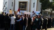 صور من الوقفة الاحتجاجية مام المكتب الوطني للكهرباء الخميس 20 نونبر 2014