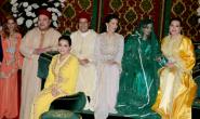 الملك يترأس حفل الحناء التقليدي لحفل زفاف الأمير مولاي رشيد