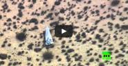 """تحطم طائرة فضائية """"سبيس شيب تو"""" بصحراء موهافي الأمريكية"""