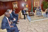 مغربي يلتقي برئيسة منظمة الوحدة الإفريقية ويقدم خدمات للقضاء على إيبولا