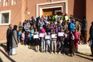 بومالن دادس:حملة نظافة بأم عياش
