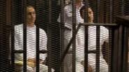الإفراج عن جمال وعلاء مبارك