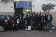 الدار البيضاء : شباب اﻹيفجي(IFJ) في زيارة دار العجزة عين الشق