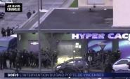 فيديو: لحظة القضاء على محتجز الرهائن بالمتجر اليهودي بباريس