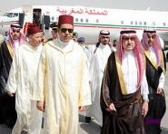 مولاي رشيد بالرياض للتعزية في وفاة الملك السعودي