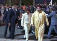 الملك يترأس حفلا دينيا
