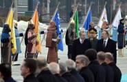 المحاربون العثمانيون يظهرون مرة ثانية في لقاء أردوغان ورئيس أذربيحان