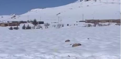 فك العزلة عن دواوير إكنيون المحاصرة بالثلوج ريبورطاج القناة الثانية