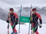 تتويج تاريخي مزدوج للمغرب على حلبة الاتحاد الدولي للتزلج