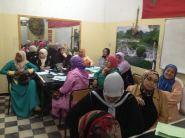 """تنظيم دورة تكوينية حول برنامج دعم المقاولة النسائية  """" من أجلك """"بالرشيدية"""