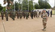 ضحايا بهجوم صاروخي على بعثة حفظ السلام بمالي