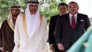 الملك يستقبل ولي عهد أبو ظبي بالدار البيضاء