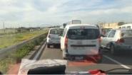 المغرب : ازدحام رهييييب في الطريق السيار بسبب العطلة المدرسية