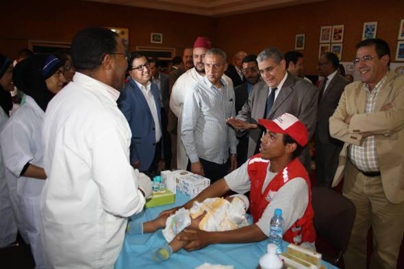 تنغير: شركة معادن اميضر تنظم عملية اعذار جماعي لفائدة 240 طفل من مختلف مناطق الاقليم
