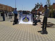 """ورزازات : مخيم سيدي داود """" """" مدرسة جديدة مخيم جديد من أجل مواطن الغد"""""""