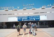 عطب تقني تقني يؤخر رحلات مطار محمد الخامس