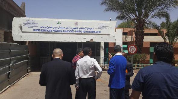 هكذا تمت إهانة ممرضة تشتغل بمستشفى سيدي حساين بن ناصر بورزازات