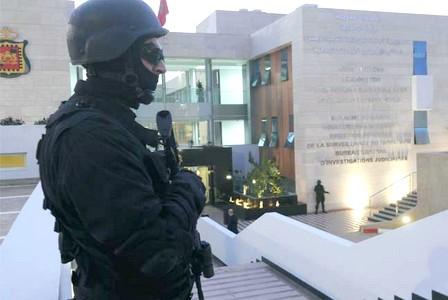 توقيف عنصر آخر ثبت تورطه في أنشطة الخلية الإرهابية التي تم تفكيكيها مؤخرا  بمدينتي الدار البيضاء وبوجنيبة (بلاغ(
