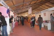 حضور فاعل ووازن للتعاونيات النسوية بالمعرض  المقام على هامش مهرجان الورود.