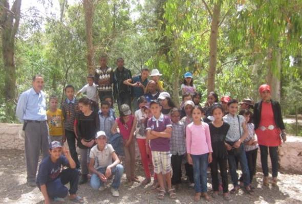رحلة تربوية لفائدة تلاميذ مجموعة مدارس زاوية البئر