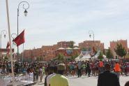 السباق الوطني على الطريق في  نسخته الثالثة ضمن فعاليات مهرجان الورود لعامه 53