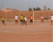 تنغير :ملخص المبارة الودية بين فريقي أمزاورو و واحة تودغا بحضور لاعب الوداد رشيد حسني