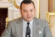 فيديو نادر للملك محمد السادس وهو يزاول اعماله في مكتبه الخاص