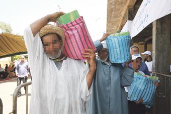 منع تجار الانتخابات من توزيع قفة رمضان