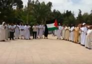 تنغير :وقفة تضامنية واحجاجية على اقتحام بني صهيون للمسجد الأقصى.