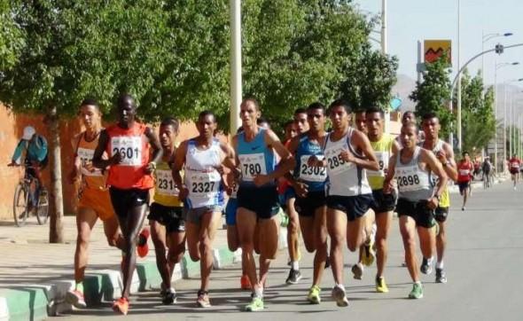 كيني يحطم الرقم القياسي لسباق 10 كلم للنسخة الرابعة لسباق تافلالت الدولي