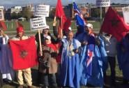 المغاربة بالبلدان الاسكندنافية يتظاهرون بكثافة بستوكهولم ضد أي انتهاك للوحدة  الترابية للمملكة
