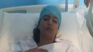 (+فيديو) الحالة الصحية للممثلة بوطازوت بعد حادث انقلاب سيارتها