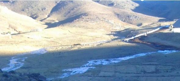 تنغير: ساكنة دواوير بجماعة إكنيون مهددة بمأساة إيكولوجية بسبب تسرب مادة سامة من منجم تيويت