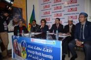 """""""التجمع العالمي الأمازيغي"""" يستعرض أهم محاور المؤتمر الثامن لأمازيغ العالم بإفران في ندوة صحفية"""