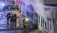 حريق بمبانٍ مخصصة لإيواء اللاجئين بالسويد