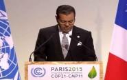 نص الخطاب الملكي الذي ألقاه مولاي رشيد نيابة عن الملك محمد السادس في مؤتمر المناخ بفرنسا