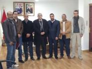 تقرير حول لقاء أعضاء الاتحاد المغربي للشغل مع عامل اقليم تنغير