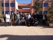 الاساتذة والأطر التربوية للثانوية التأهيلية سيدي محمد بن عبد الله بتنغير يتضامنون مع زملائهم المتدربين بالمراكز الجهوية لمهن للتربية والتكوين.