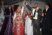 لبنى الشماق تتوج بلقب ملكة جمال الأمازيغ 2016