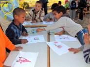تنغير : مدرسة البور تفتتح إقصائيات التلوين للبراعم