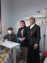 مراكش :زكرياء يتحدى المرض ويجتاز الاختبار الموحد بالمستشفى