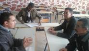 مجريات اللقاء التواصلي مع أباء وأولياء التلاميذ بثانوية عبد الكريم الخطابي التأهيلية