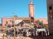 "قتيلان في حادث انهيار جزئي لحائط مسجد ""توريرت"" في تنغير (فيديو)"