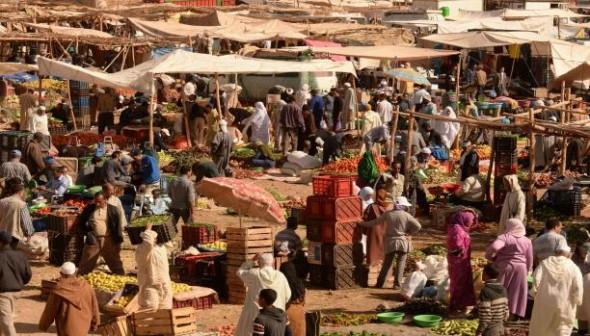 لقطة اليوم : من السوق الاسبوعي لمدينة تنغير
